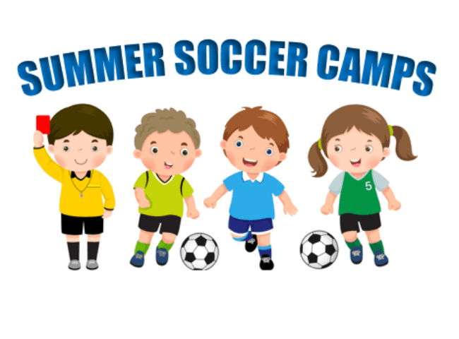 Summer Soccer Camps - website graphic