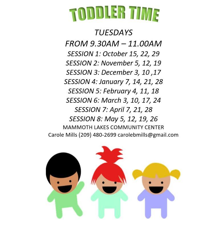 2019-2020 Todder Time Sessions